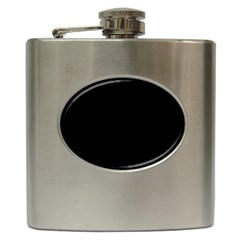Black Hip Flask (6 Oz)