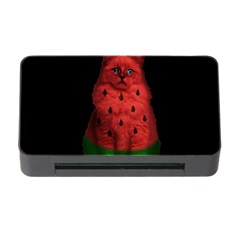 Watermelon Cat Memory Card Reader With Cf