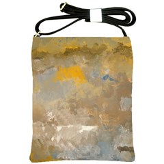 Sunset In The Mountains Shoulder Sling Bags