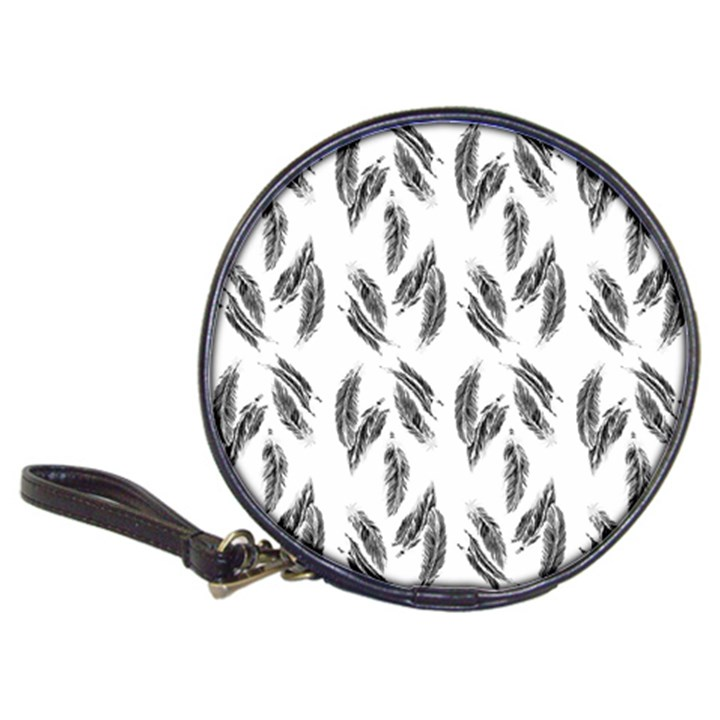 Feather pattern Classic 20-CD Wallets