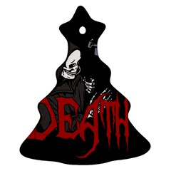 Death   Halloween Ornament (christmas Tree)