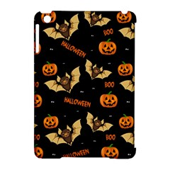 Bat, Pumpkin And Spider Pattern Apple Ipad Mini Hardshell Case (compatible With Smart Cover)