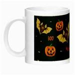 Bat, pumpkin and spider pattern Night Luminous Mugs Left