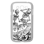 Skeletons - Halloween Samsung Galaxy Grand DUOS I9082 Case (White) Front