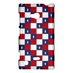 American Flag Star White Red Blue Nokia Lumia 720