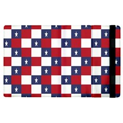American Flag Star White Red Blue Apple Ipad Pro 12 9   Flip Case