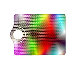 Abstract Rainbow Pattern Colorful Stars Space Kindle Fire Hd (2013) Flip 360 Case
