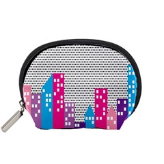 Building Polka City Rainbow Accessory Pouches (small)