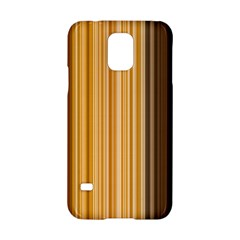 Brown Verticals Lines Stripes Colorful Samsung Galaxy S5 Hardshell Case