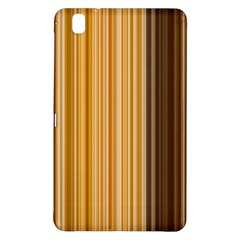 Brown Verticals Lines Stripes Colorful Samsung Galaxy Tab Pro 8 4 Hardshell Case