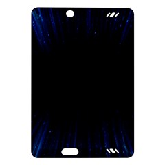 Colorful Light Ray Border Animation Loop Blue Motion Background Space Amazon Kindle Fire Hd (2013) Hardshell Case