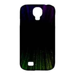 Colorful Light Ray Border Animation Loop Rainbow Motion Background Space Samsung Galaxy S4 Classic Hardshell Case (pc+silicone)