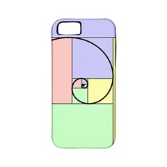 Golden Spiral Logarithmic Color Apple Iphone 5 Classic Hardshell Case (pc+silicone)