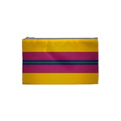 Layer Retro Colorful Transition Pack Alpha Channel Motion Line Cosmetic Bag (small)