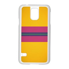 Layer Retro Colorful Transition Pack Alpha Channel Motion Line Samsung Galaxy S5 Case (white)