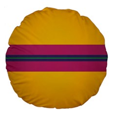 Layer Retro Colorful Transition Pack Alpha Channel Motion Line Large 18  Premium Flano Round Cushions