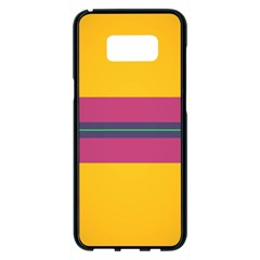 Layer Retro Colorful Transition Pack Alpha Channel Motion Line Samsung Galaxy S8 Plus Black Seamless Case