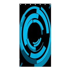 Graphics Abstract Motion Background Eybis Foxe Shower Curtain 36  X 72  (stall)