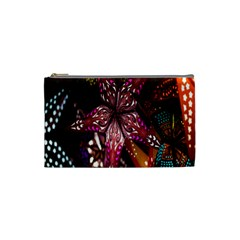 Hanging Paper Star Lights Cosmetic Bag (small)