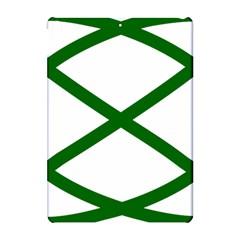 Lissajous Small Green Line Apple Ipad Pro 10 5   Hardshell Case