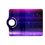 Massive Flare Lines Horizon Glow Particles Animation Background Space Kindle Fire HD (2013) Flip 360 Case Front