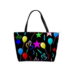 Party Pattern Star Balloon Candle Happy Shoulder Handbags