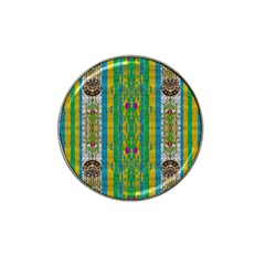 Rainbows Rain In The Golden Mangrove Forest Hat Clip Ball Marker