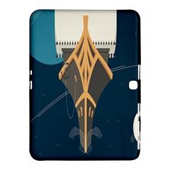 Planetary Resources Exploration Asteroid Mining Social Ship Samsung Galaxy Tab 4 (10 1 ) Hardshell Case