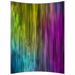 Rainbow Bubble Curtains Motion Background Space Back Support Cushion
