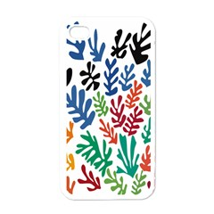 The Wreath Matisse Beauty Rainbow Color Sea Beach Apple Iphone 4 Case (white)