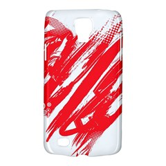 Valentines Day Heart Modern Red Polka Galaxy S4 Active