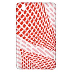 Waves Wave Learning Connection Polka Red Pink Chevron Samsung Galaxy Tab Pro 8 4 Hardshell Case
