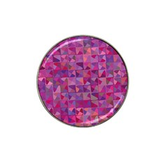 Mosaic Pattern 7 Hat Clip Ball Marker (4 Pack)