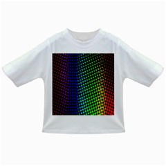 Digitally Created Halftone Dots Abstract Background Design Infant/toddler T Shirts