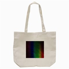 Digitally Created Halftone Dots Abstract Background Design Tote Bag (cream)