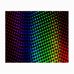 Digitally Created Halftone Dots Abstract Background Design Small Glasses Cloth