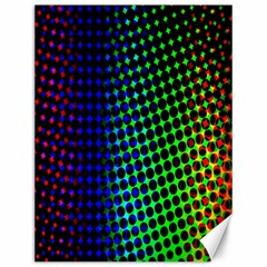 Digitally Created Halftone Dots Abstract Background Design Canvas 12  X 16