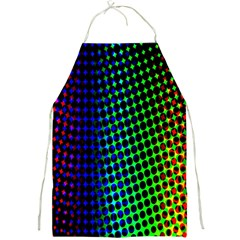 Digitally Created Halftone Dots Abstract Background Design Full Print Aprons