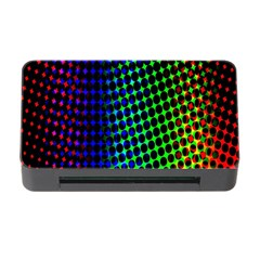 Digitally Created Halftone Dots Abstract Background Design Memory Card Reader With Cf