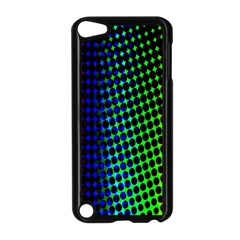 Digitally Created Halftone Dots Abstract Background Design Apple Ipod Touch 5 Case (black)