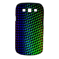 Digitally Created Halftone Dots Abstract Background Design Samsung Galaxy S Iii Classic Hardshell Case (pc+silicone)