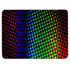Digitally Created Halftone Dots Abstract Background Design Samsung Galaxy Tab 7  P1000 Flip Case