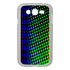 Digitally Created Halftone Dots Abstract Background Design Samsung Galaxy Grand Duos I9082 Case (white)