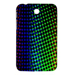 Digitally Created Halftone Dots Abstract Background Design Samsung Galaxy Tab 3 (7 ) P3200 Hardshell Case