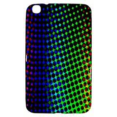 Digitally Created Halftone Dots Abstract Background Design Samsung Galaxy Tab 3 (8 ) T3100 Hardshell Case