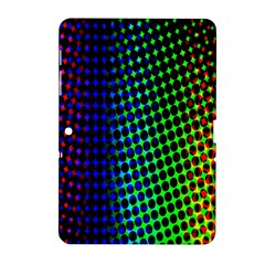 Digitally Created Halftone Dots Abstract Background Design Samsung Galaxy Tab 2 (10 1 ) P5100 Hardshell Case