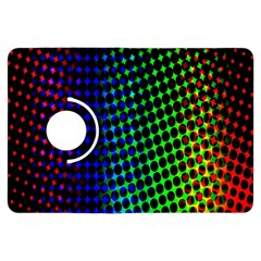 Digitally Created Halftone Dots Abstract Background Design Kindle Fire Hdx Flip 360 Case
