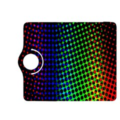 Digitally Created Halftone Dots Abstract Background Design Kindle Fire Hdx 8 9  Flip 360 Case
