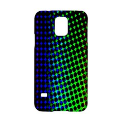 Digitally Created Halftone Dots Abstract Background Design Samsung Galaxy S5 Hardshell Case