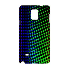 Digitally Created Halftone Dots Abstract Background Design Samsung Galaxy Note 4 Hardshell Case